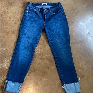 EUC Loft cropped jeans